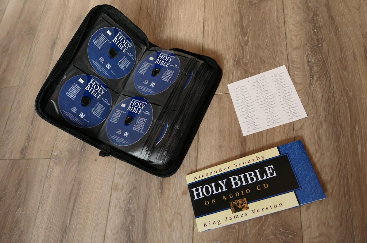 KJV Audio Bible | by Alexander Scourby CD bundel