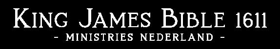 King James Bible 1611 Ministries Nederland Logo
